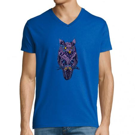 "T-shirt homme col V ""I see..."