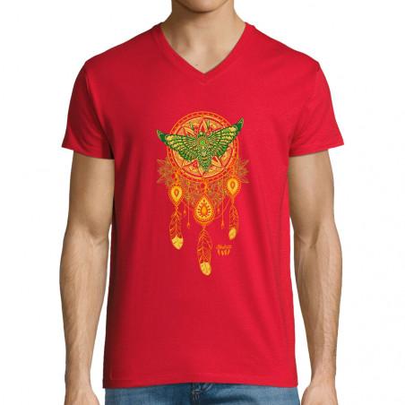 """T-shirt homme col V """"Weird..."""