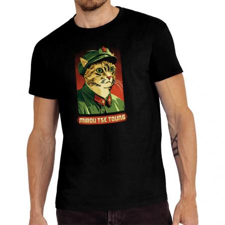 """Tee-shirt homme """"Miaou Tse..."""
