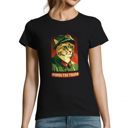 "T-shirt femme ""Miaou Tse..."