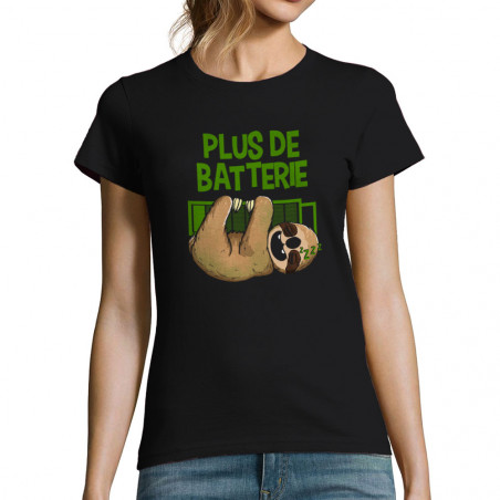 """T-shirt femme """"Plus de..."""