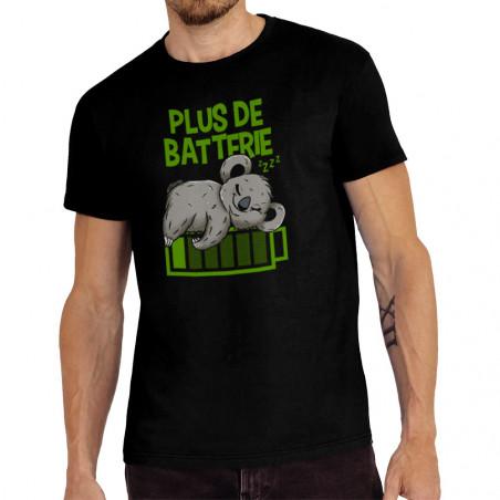 "Tee-shirt homme ""Plus de..."