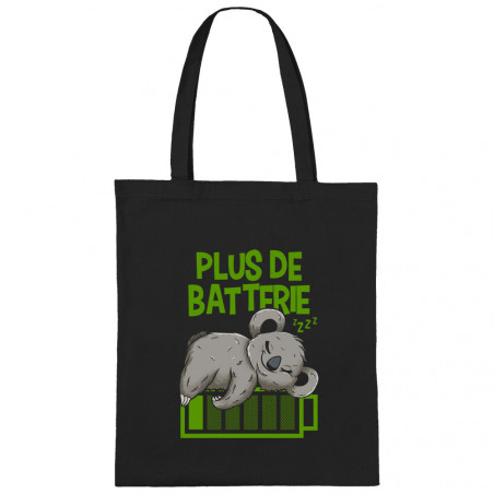 "Sac shopping en toile ""Plus..."