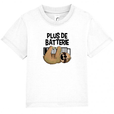 "Tee-shirt bébé ""Plus de..."