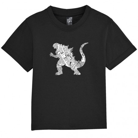 "Tee-shirt bébé ""Kaiju Papers"""