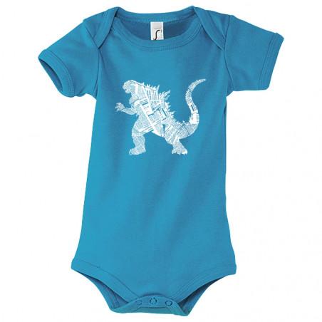 """Body bébé """"Kaiju Papers"""""""