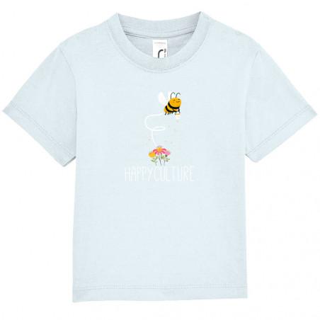 "Tee-shirt bébé ""Happyculture"""