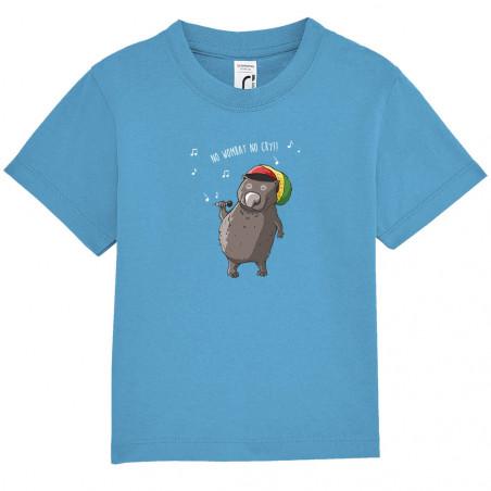 """Tee-shirt bébé """"No wombat..."""