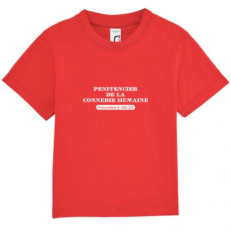 """Tee-shirt bébé """"Prisonnière"""""""