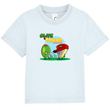 """Tee-shirt bébé """"Olive et..."""