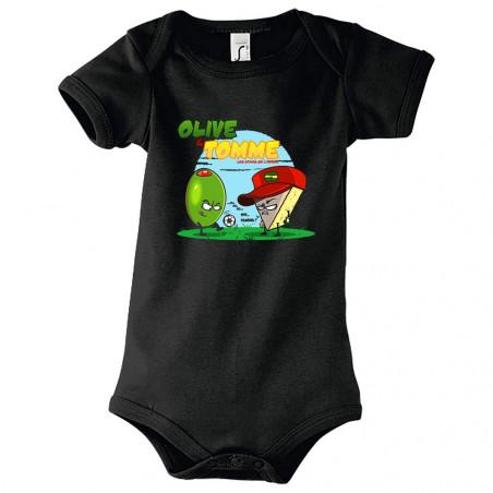 """Body bébé """"Olive et Tomme"""""""