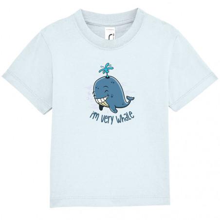 "Tee-shirt bébé ""I'm Very..."