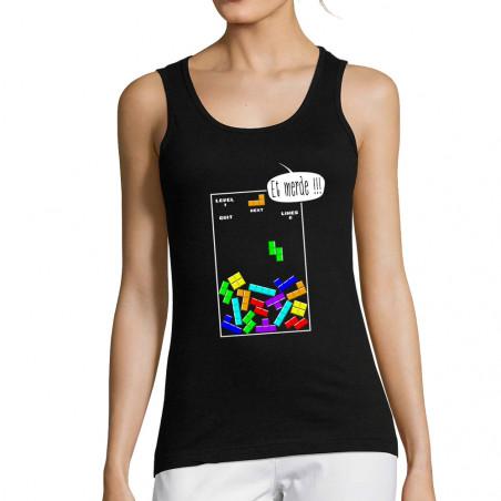 """Débardeur femme """"Tetris Et..."""