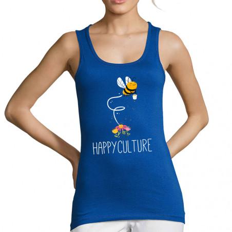 """Débardeur femme """"Happyculture"""""""