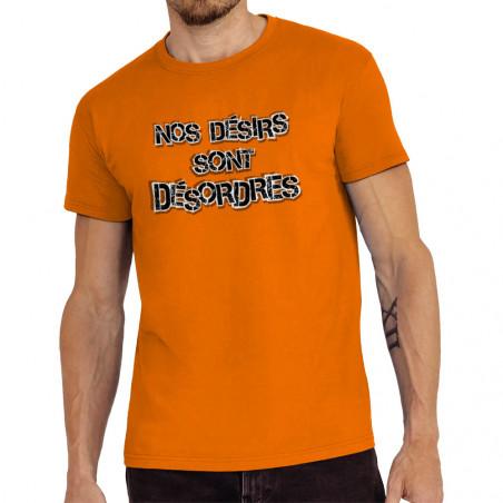 "Tee-shirt homme ""Nos désirs..."