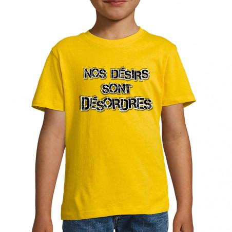 """Tee-shirt enfant """"Nos..."""
