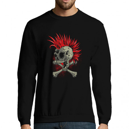 "Sweat-shirt homme ""Iroskull"""
