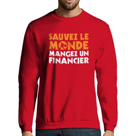 "Sweat-shirt homme ""Sauvez..."