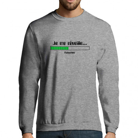 "Sweat-shirt homme ""Je me..."