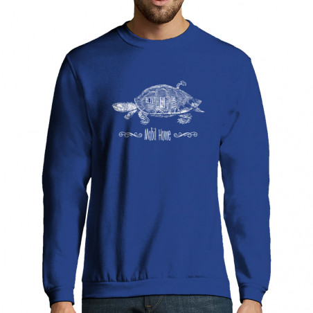 "Sweat-shirt homme ""Mobil Home"""