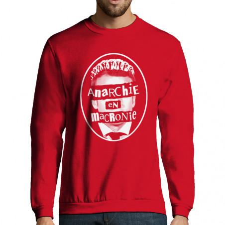 """Sweat-shirt homme """"Anarchie..."""