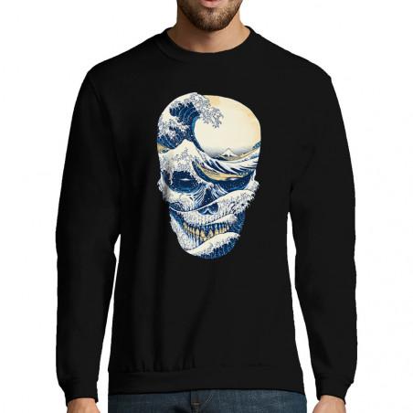 "Sweat-shirt homme ""Hokusai..."
