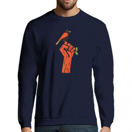 """Sweat-shirt homme """"Résiste"""""""