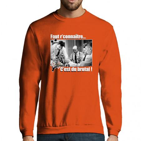 """Sweat-shirt homme """"Faut..."""