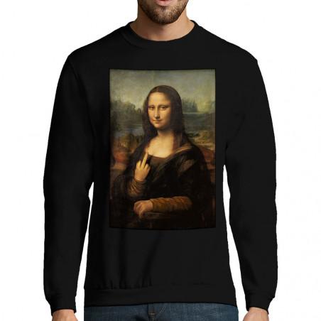 "Sweat-shirt homme ""Mona..."