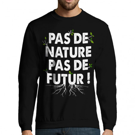 "Sweat-shirt homme ""Pas de..."