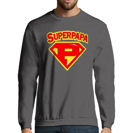"Sweat-shirt homme ""Super Papa"""
