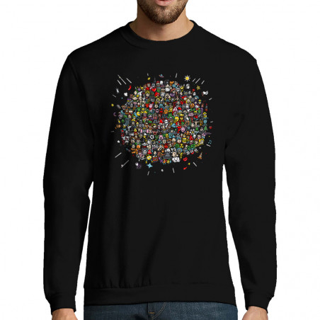 """Sweat-shirt homme """"Planet..."""