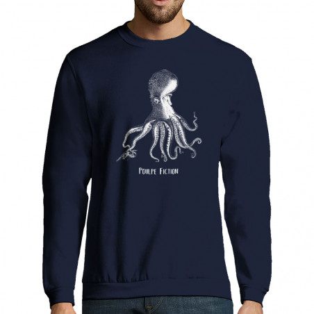 "Sweat-shirt homme ""Poulpe..."