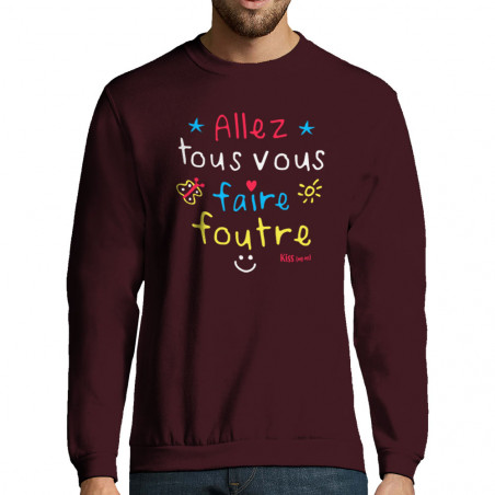 "Sweat-shirt homme ""Allez..."