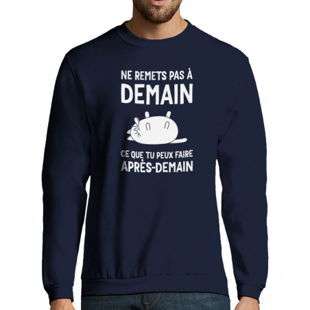 "Sweat-shirt homme ""Ne..."