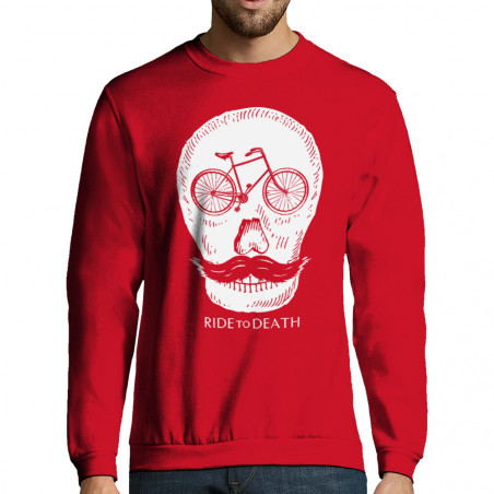 """Sweat-shirt homme """"Ride to..."""
