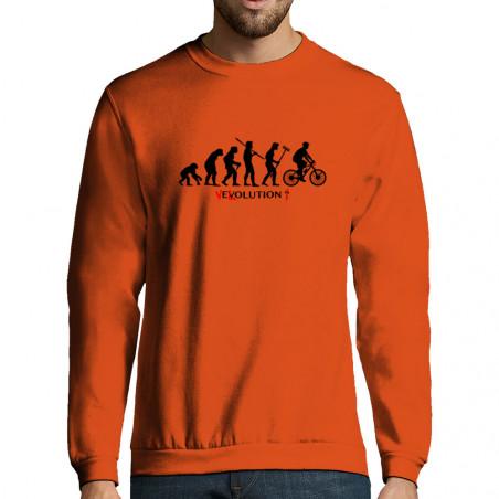 """Sweat-shirt homme """"Vélolution"""""""