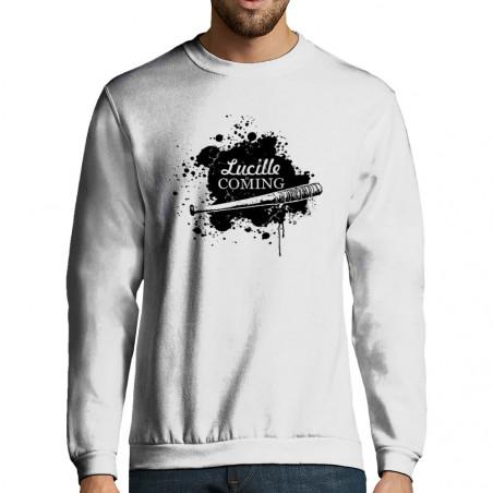"Sweat-shirt homme ""Lucille..."