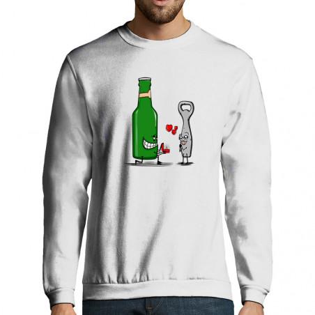 """Sweat-shirt homme """"Beer..."""