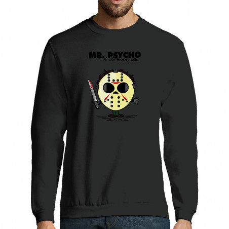 "Sweat-shirt homme ""Mr Psycho"""