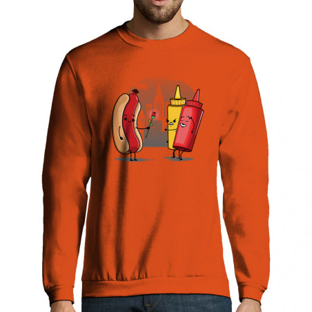 """Sweat-shirt homme """"NYC..."""