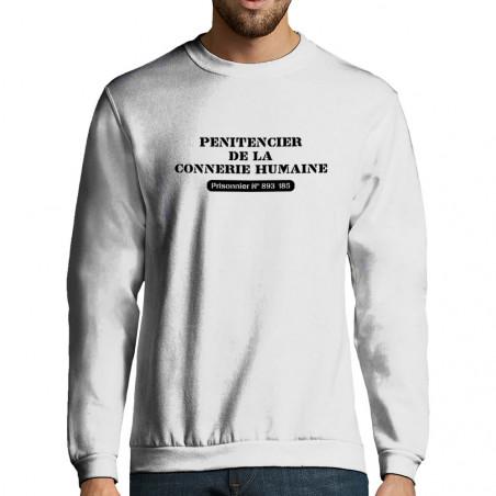 """Sweat-shirt homme """"Prisonnier"""""""
