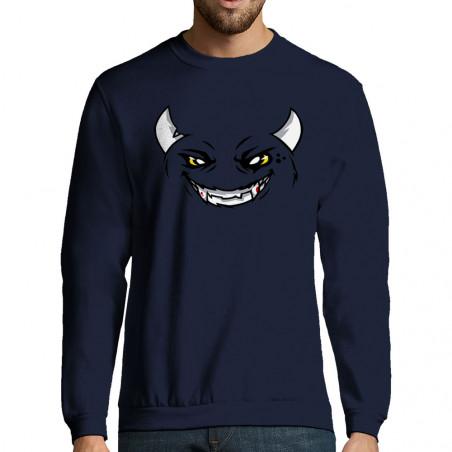 "Sweat-shirt homme ""SmilHell"""