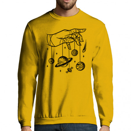 "Sweat-shirt homme ""Cosmos..."