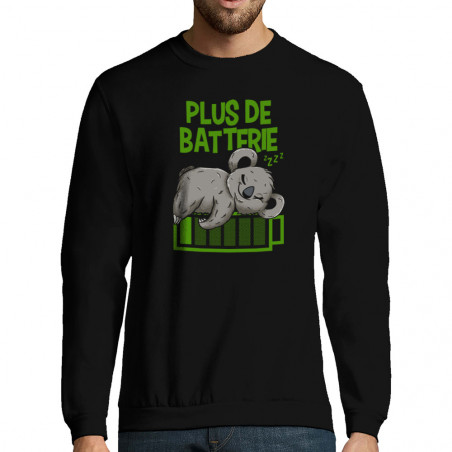 "Sweat-shirt homme ""Plus de..."