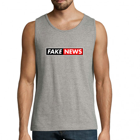 "Débardeur homme ""Fake News"""