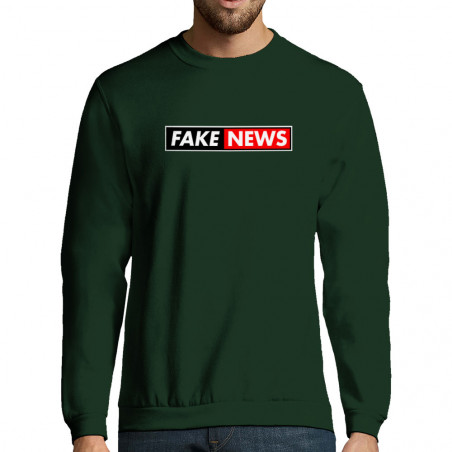 "Sweat-shirt homme ""Fake News"""