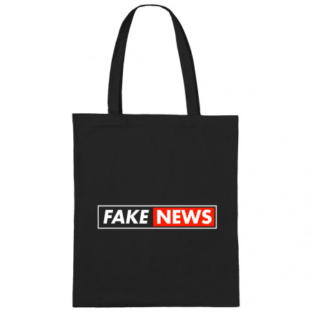 "Sac shopping en toile ""Fake..."
