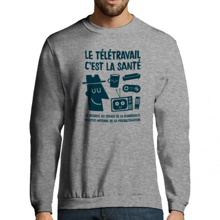 "Sweat-shirt homme ""Le..."