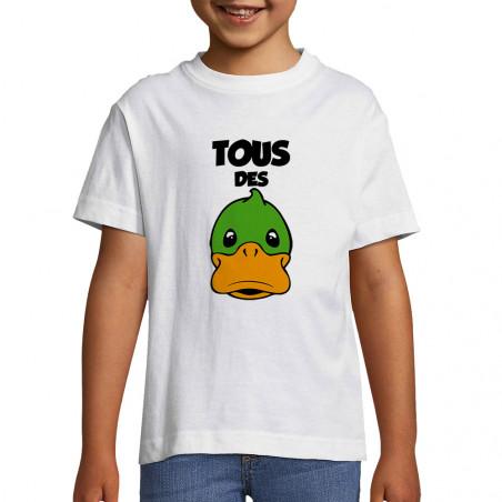 """Tee-shirt enfant """"Tous des..."""